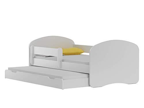 BDW NEU Kinderbett mit 2 Liegeflächen und 2 Matratzen DOPELLBETT 180x90 - für Mädchen und Jungen JUGENDBETT...