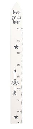 roba Messlatte 'Rock Star Baby' mit Bedruckung, Wachstumsmesser mit Skala bis 150 cm für Kinder, Messleiste,...