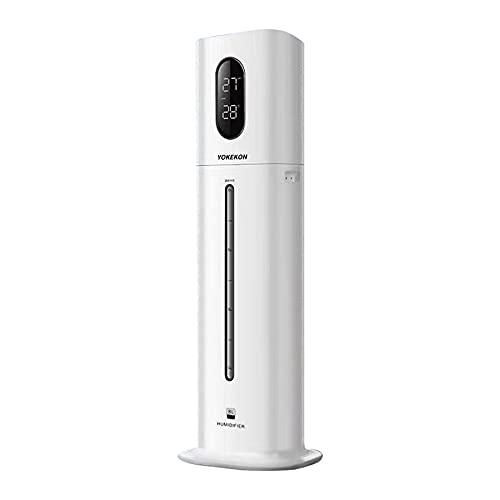 Luftbefeuchter Große Räume Schlafzimmer YOKEKON Top-Füllung Ultraschall Luftbefeuchter 8L mit kühlen...