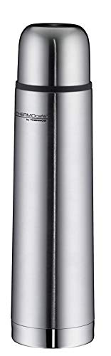 ThermoCafé by THERMOS 4058.205.070 Thermosflasche Everyday, Edelstahl mattiert 0,7 l, Drehverschluss mit...