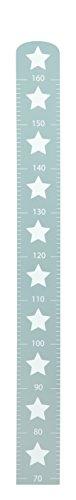 roba Messlatte 'Little Stars' mit Sterne Motiv, Wachstumsmesser mit Skala bis 160 cm für Kinder, Messleiste...