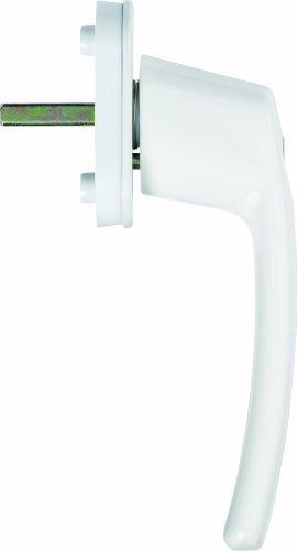 ABUS Abschließbarer Fenstergriff FG200 AB208 - Fensterknauf mit Druckzylinder, gleichschließend -...