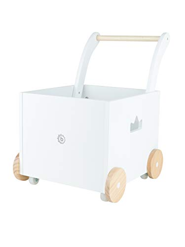 Bieco Lauflernwagen Holz | ab 1 Jahr | Multifunktionale Baby Lauflernhilfe | Laufwagen für Babys in...