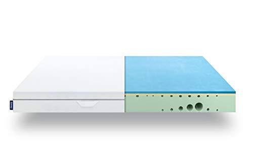 EMMA One Matratze - 90x200 cm, Liegegefühl Medium - ergonomische 7 Zonen Matratze - atmungsaktiv - 100...