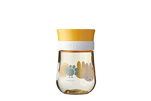 Mepal Mio – 360° Trinklernbecher Miffy explore – Trinklernbecher ab 9 Monate – auslaufsicher –...