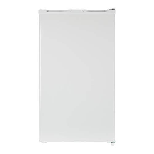 MEDION Kühlschrank mit Eiswürfelfach (93 Liter, 85cm Höhe, Glasablage, Gemüseschublade, Freistehend,...