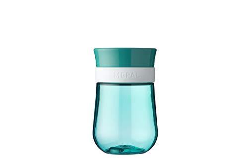 Mepal Mio – 360° Trinklernbecher deep turquoise – Trinklernbecher ab 9 Monate – auslaufsicher –...