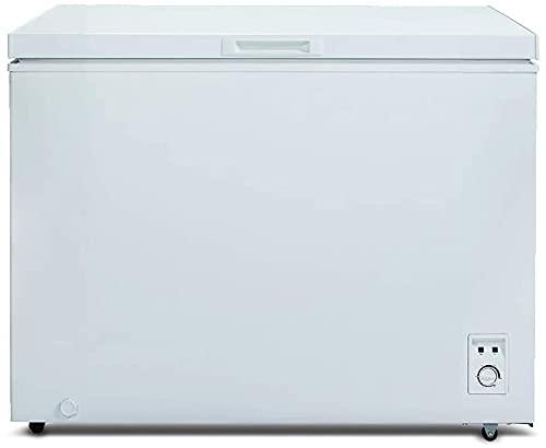 CHiQ Gefrierschrank Groß 292 L | Gefriertruhe mit statischem Kühlungsystem | 83,5 x 105,5 x 73,5 cm (HxBxT)...