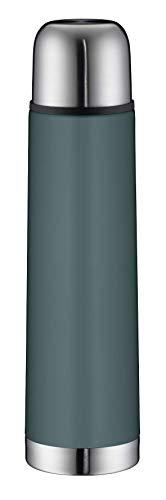 alfi 5457.293.075 Isolierflasche isoTherm Eco, Edelstahl Sea Pine, 0,75 Liter, Drehverschluss, 12 Stunden...