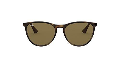 Ray-Ban Unisex Izzy Sonnenbrille, Mehrfarbig (Gestell: Havana/Gunmetal, Gläser: Braun Klassisch 700673),...