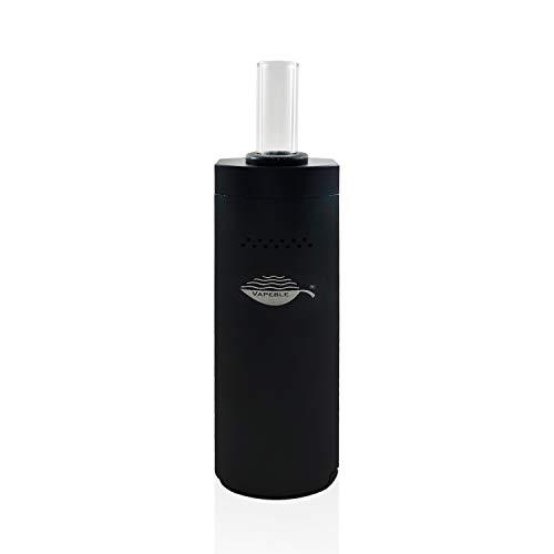 Vaporizer Vapeble Wolke premium Verdampfer mit Glasmundstück, Metallgehäuse, wechselbare 2600 mah Batterie,...
