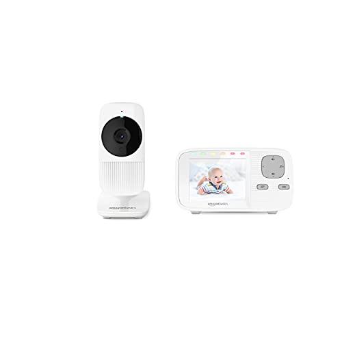 Amazon Basics Babyphone mit Farbbildschirm und Zweiwege-Kommunikation