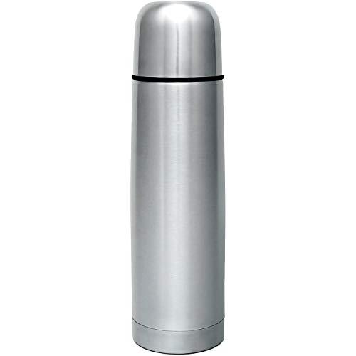 GRÄWE Isolierflasche aus Edelstahl, 0,75 Liter Trinkflasche, Vakuum-Isolierte Thermoflasche mit Becher und...