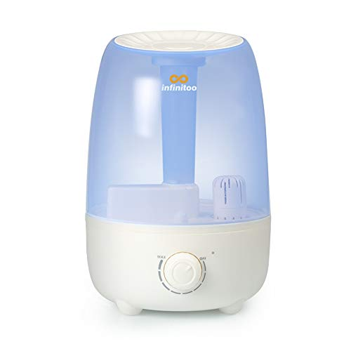 Luftbefeuchter Baby infinitoo 4,8L Ultraschall Raumluftbefeuchter | Abschaltautomatik Raumbefeuchter Kinder-...