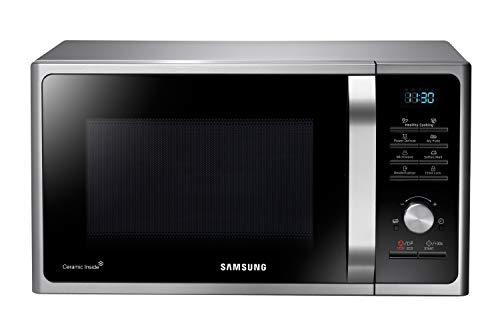 Samsung MS28F303TAS/EG Mikrowelle / 1000 W / 28 L Garraum (Extra groß) / 51,2 cm Breite / Power Defrost / 26...