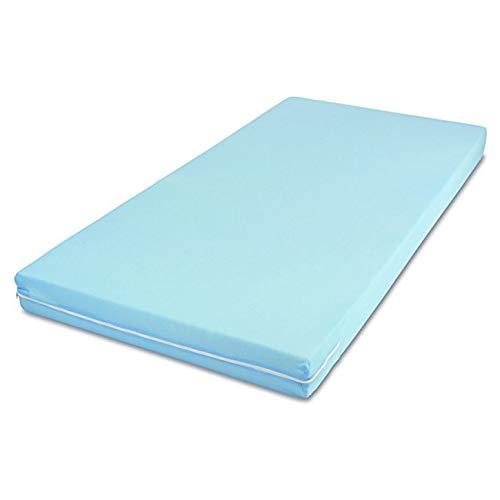 MSS Roll-Matratze, Easy Active, 80 x 200 x 11 cm, H3, Bezug Blau, Schaumstoff