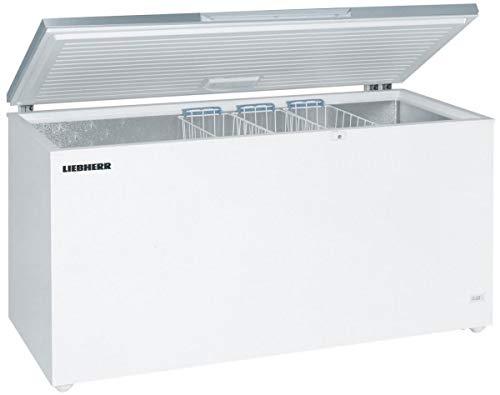 LIEBHERR GTL6106 Gefriertruhe 598 Liter Stahl weiß HxB: 91x166cm