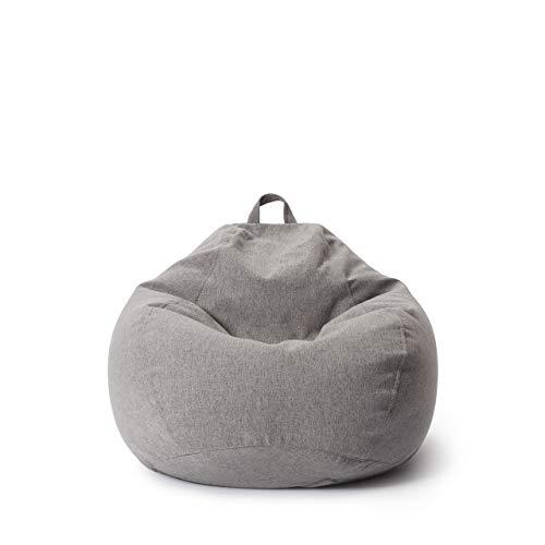 Lumaland Comfort Line Sitzsack L Indoor - 80x90x50 cm - Bodenkissen, Bean Bag Chair, Sessel - 185 L - EPS...