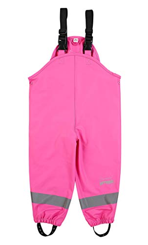 Sterntaler Mädchen Regenhose mit Hosenträgern, Alter: 4-6 Jahre, Größe: 116, Pink