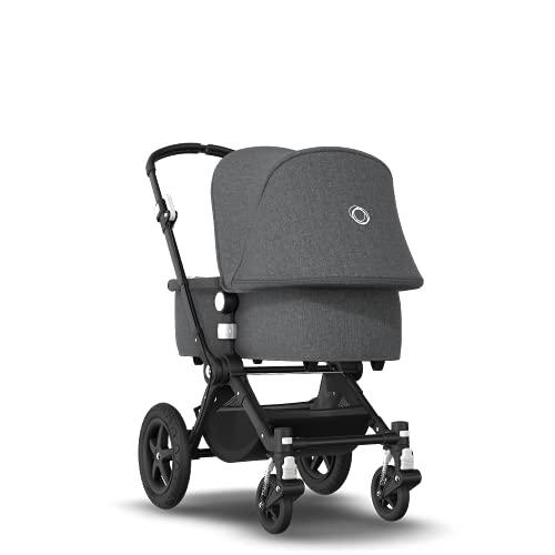 Bugaboo Cameleon 3 Plus, 2-in-1 Erstlings- und Kinderwagen, Schwarz, Grau Meliert