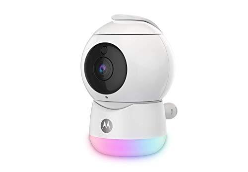 Motorola Peekaboo - Full HD Wifi Video Babykamera mit Nachtlicht - Temperatur, Schwenken, Scannen, Zoomen,...