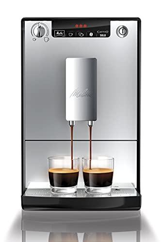 Melitta Caffeo Solo E950-103 Schlanker Kaffeevollautomat mit Vorbrühfunktion | 15 Bar | LED-Display |...