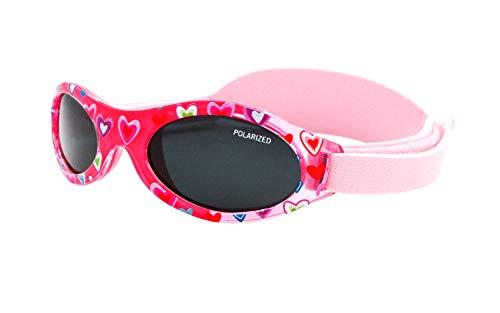 Kiddus POLARISIERTE PREMIUM Baby Sonnenbrille. Jungen und Mädchen. Von 0 Monaten bis 2 Jahren. UV400 100%...