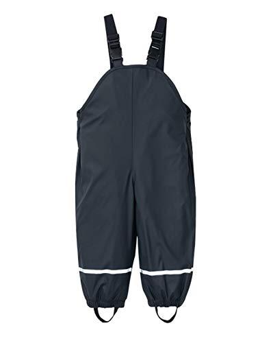 PIZOFF Unisex Kinder Jungen Regenlatzhose, Wind- und wasserdichte Matschhose Regenhose,Navy,S(86/92)