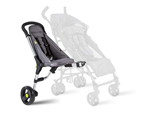 Buggypod io 4. Generation – umrüstbarer Beiwagen für Kinder- und Sportwagen, passt an die meisten...