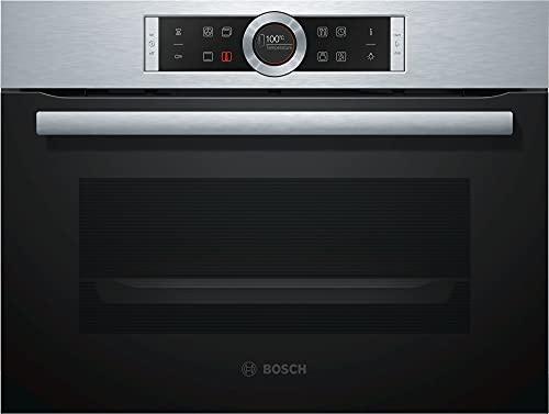 Bosch CBG635BS3 Serie 8 Einbau-Kompaktdampfbackofen / A+ / 47 L / Edelstahl / Klapptür / TFT-Display / 13...