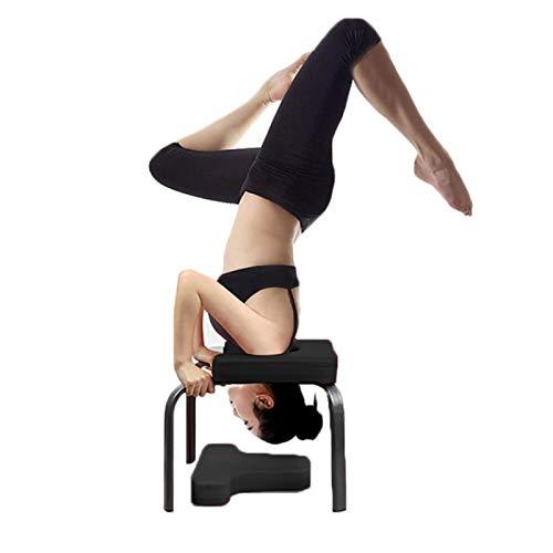 SinceY Kopfstandhocker Yoga Feetups Hilft Trainingsstuhl Multifunktionale Sportübung Bank Fitnessgeräte...