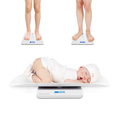 MomMed Babywaage Digital 50 g bis 100 Kg | Kinder-Waage, Baby-Waage | Säuglingswaage, Stillwaage Baby - mit...