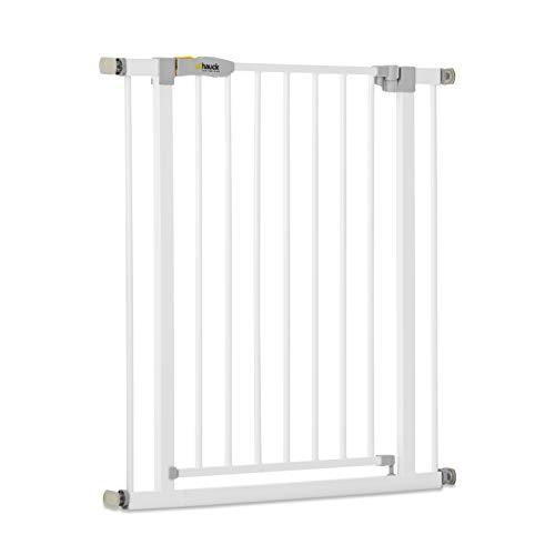 Hauck Türschutzgitter / Treppenschutzgitter für Kinder Open N Stop KD Safety Gate / ohne Bohren / 75 - 80 cm...