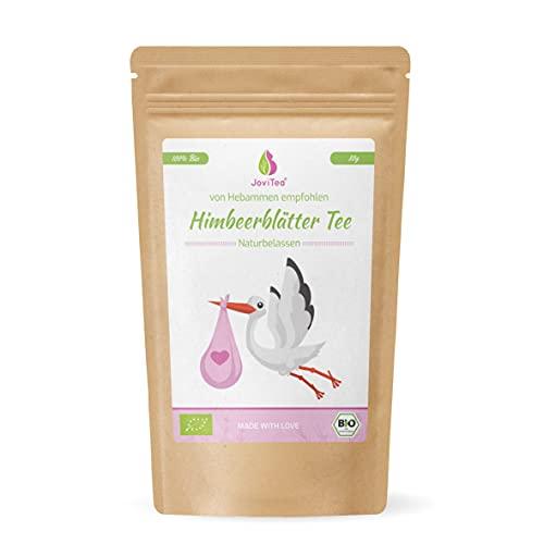JoviTea® Himbeerblättertee BIO 80g - Kräutertee - auch während der Geburtsvorbereitung -...