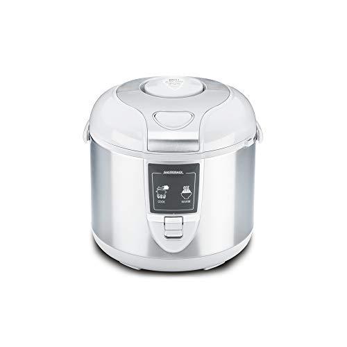 Gastroback 42507 Design Reiskocher, Abschalt-und Warmhaltefunktion, 3 Liter, antihaftbeschichtet, 450 Watt,...