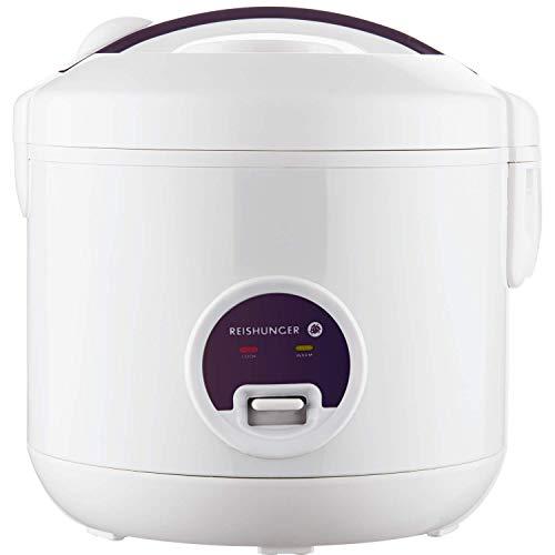 Reishunger Reiskocher und Dampfgarer mit Warmhaltefunktion, Reis für bis zu 6 Personen ohne Anbrennen, mit...