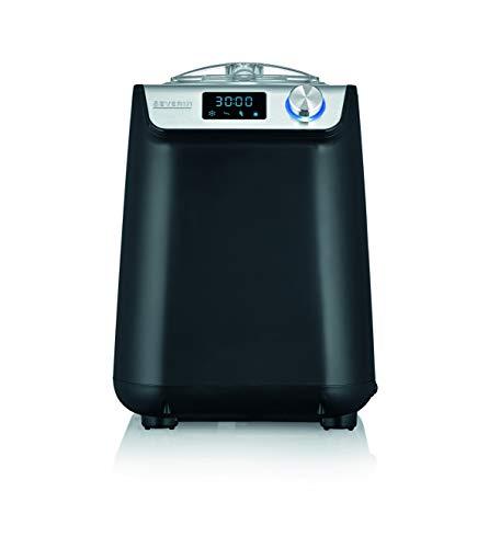 SEVERIN EZ 7407 Kompakt-Eismaschine mit Kompressor, 1.2l Fassungsvermögen, hochwertiges Gehäuse Applikation,...