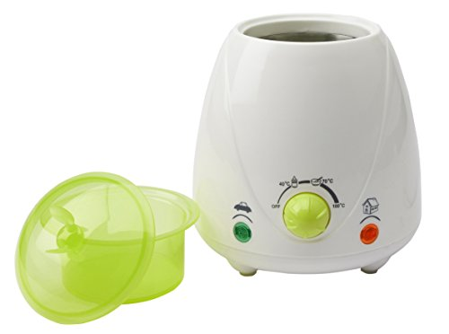 H+H BS 22 Mobiler Babykostwärmer (Stufenlos einstellbar, Weithalsflaschen, Optische Anzeige,...