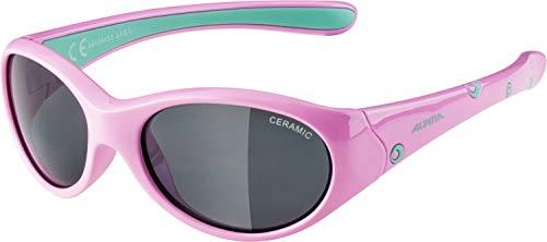 ALPINA Mädchen, FLEXXY GIRL Sonnenbrille, rose-mint gloss, One size