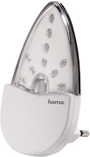 Hama 'Bernstein' LED Nachtlicht für Kinderzimmer und Schlafzimmer (stromsparend, nur 0,2 W,...