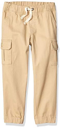 Amazon Essentials Jungen Cargohose, khaki, 4-5 Jahre Label:XS
