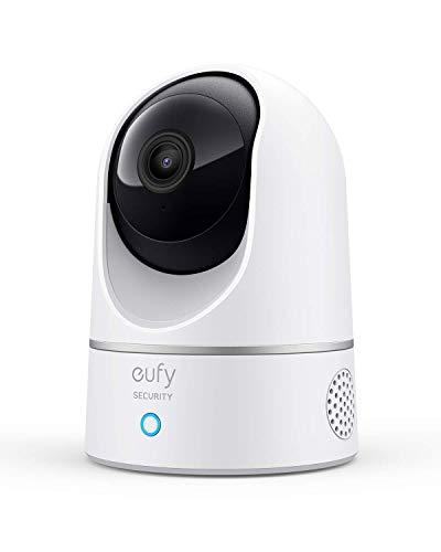 eufy Überwachungskamera, IP Kamera, Security Indoor Cam 2K für Innenbereiche, Plug-In...