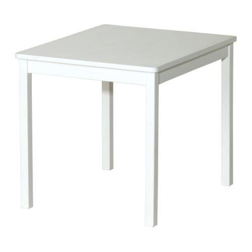 Ikea KRITTER Kindertisch in weiß