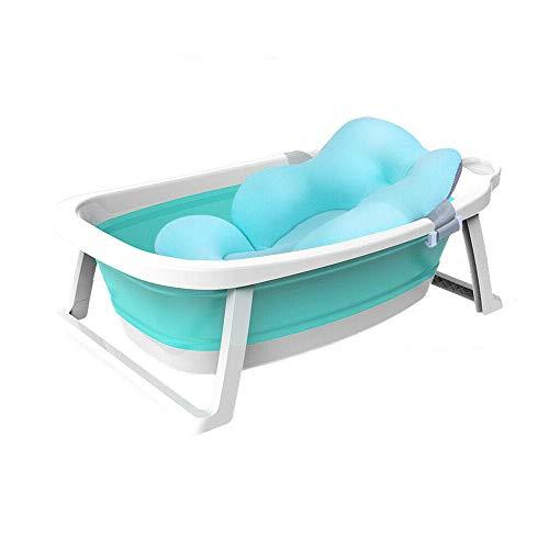 Babify Lagoon faltbare Badewanne für Babys mit Kissen Kompakt zusammenklappbar – Kissen im Lieferumfang...