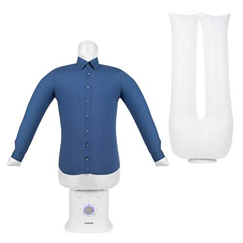 Klarstein ShirtButler Deluxe automatisches Trocken- und Bügelgerät, 2-in-1: Trocknen und bügeln, 1250 W...