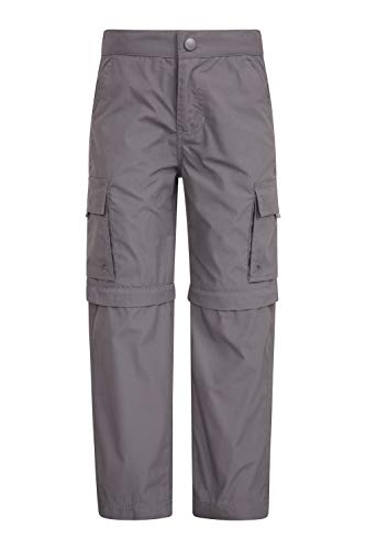 Mountain Warehouse Active Zip-Off-Hose Für Kinder - schrumpf- & verblassungsbeständige Kinderhose,...
