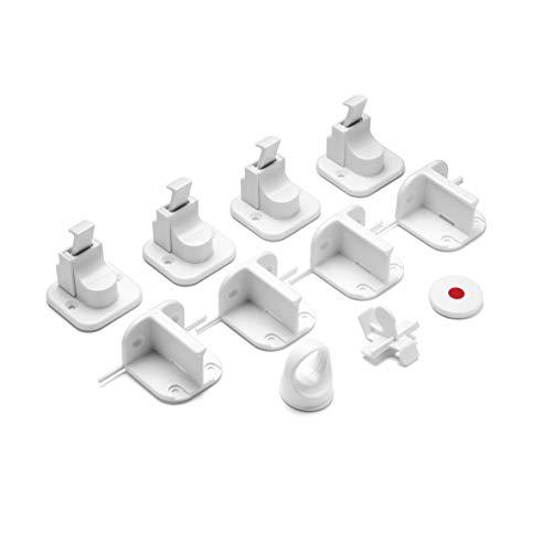 reer Vorteilspack Magnetschloss, 4 Stück, Schrank-Sicherung und Schubladen-Sicherung, vom Schwäbischen...