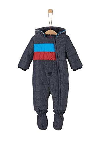 s.Oliver RED LABEL Unisex - Baby Winter-Overall mit Fleecefutter navy 68