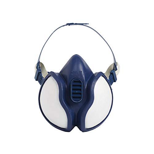3M Atemschutz-Maske 4251+, A1P2, Halbmaske für Farbspritzarbeiten, 1 Maske
