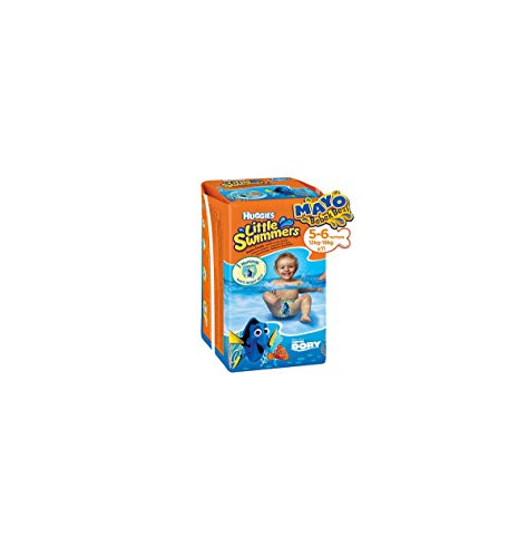 Huggies Little Swimmers Schwimmwindeln, Gr.5/6, 1er Pack (1 x 11 Windeln)